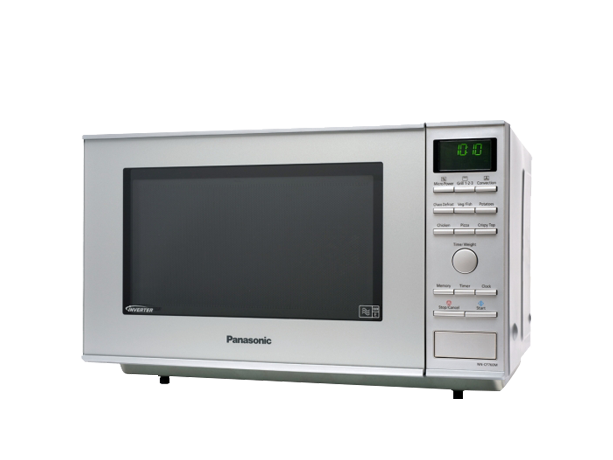 panasonic nn cf760m hei luft inverter mikrowelle silber green point. Black Bedroom Furniture Sets. Home Design Ideas