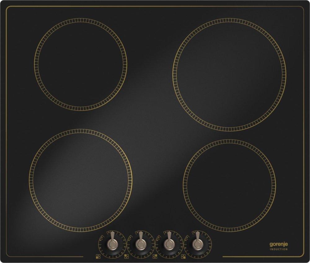 gorenje ic634clb induktionskochfeld retro schwarz autark 60cm green point. Black Bedroom Furniture Sets. Home Design Ideas